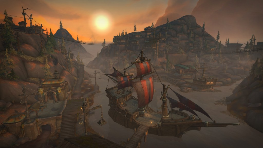 WoW BattleForAzeroth Freehold 3840x2160