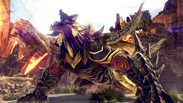 god eater 3 giant beast screenshot