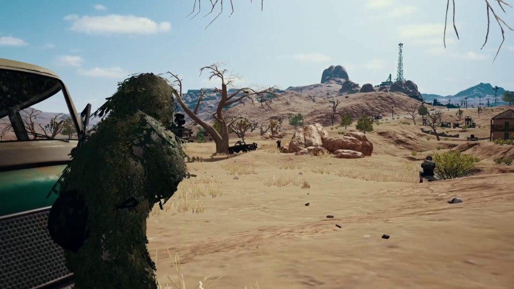 PUBG no PS4 Screenshot