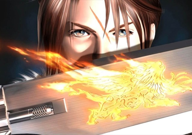 final fantasy 8 remaster remake playstation one squall leonhart