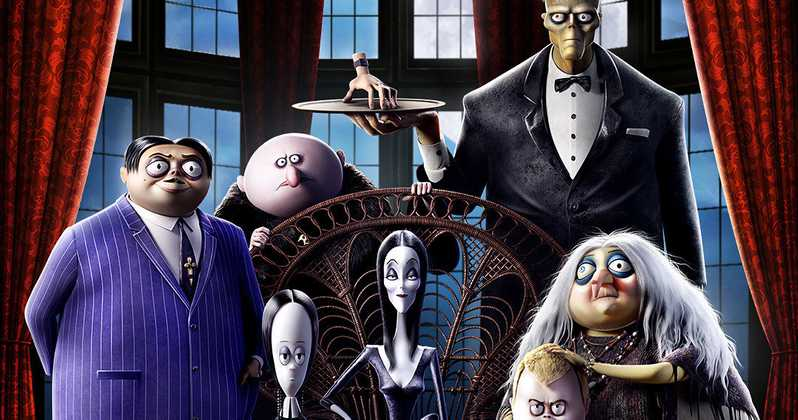 The Addams Family Movie 2019 Poster Animated
