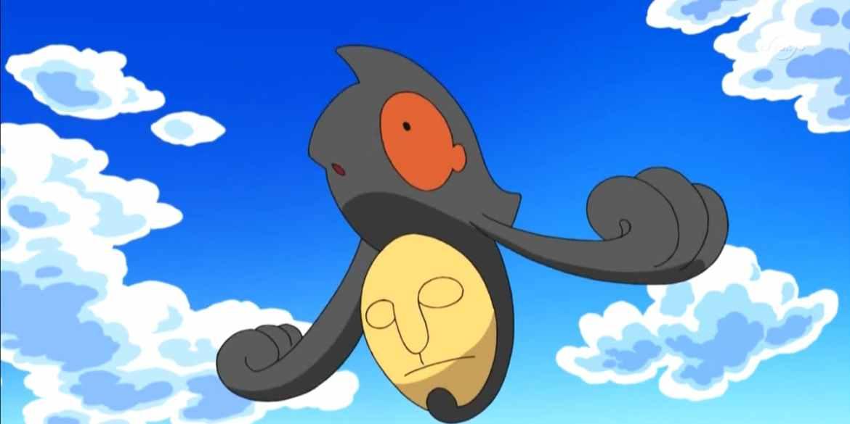 ' Yamask no anime Pokémon '