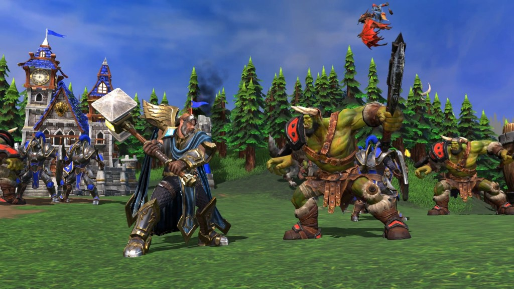 warcraft iii reforged human vs orc png