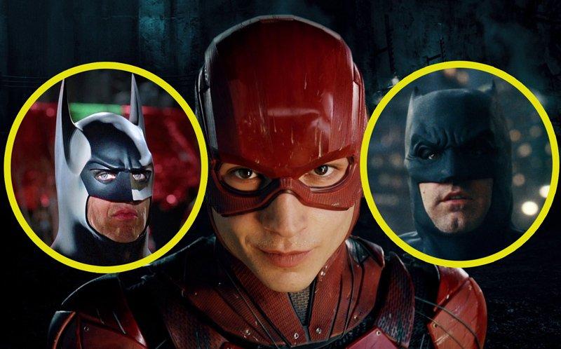 Ben Affleck e Michael Keaton vão retornar como Batman em filme do Flash