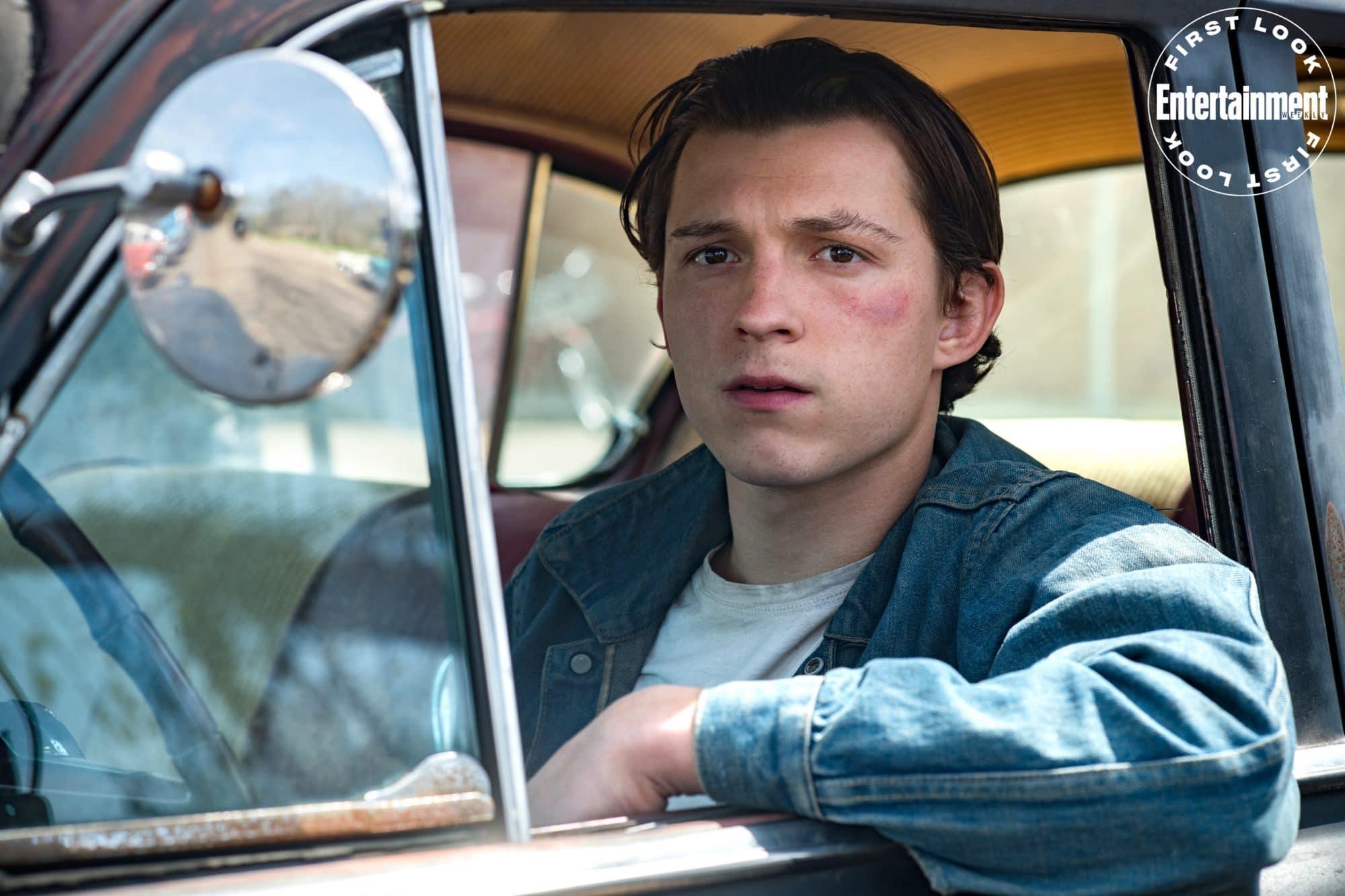 Tom Holland protagoniza O Diabo De Cada Dia, novo filme da Netflix.