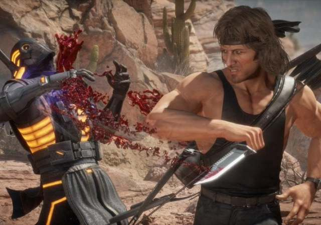 Mortal Kombat 11 Ultimate Rambo