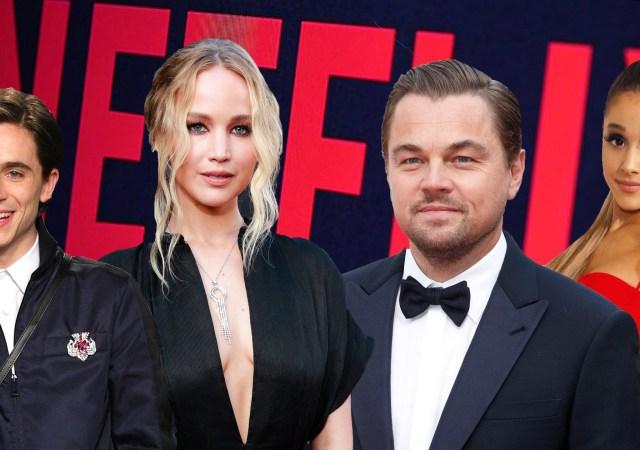 A Netflix anunciou, através da sua conta no Twitter, o seu novo filme Don't Look Up do cineasta e escritor Adam McKay(Vice). O longa ainda será estrelado por Leonardo DiCaprio e Jennifer Lawrence.