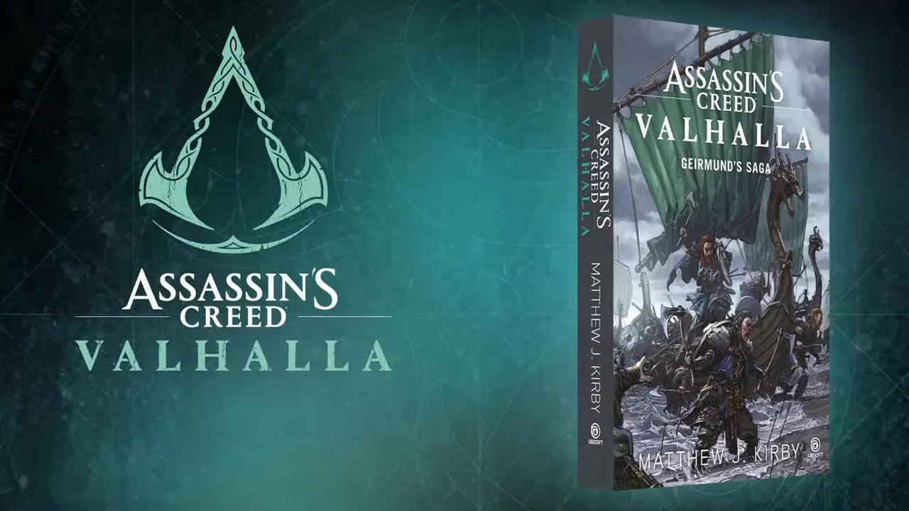 Livro de Assassins Creed Valhalla
