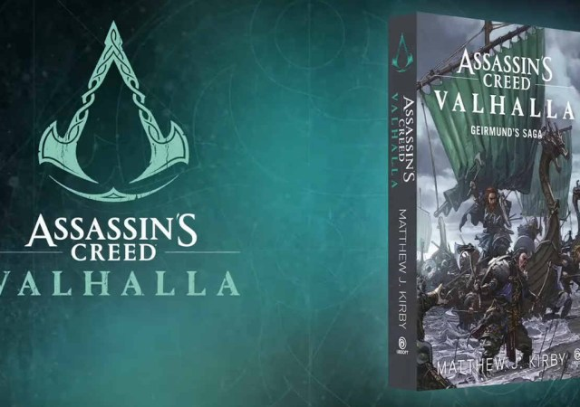 Livro de Assassins Creed Valhalla