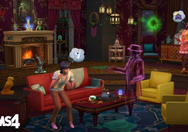 the sims 4 paranormal 2