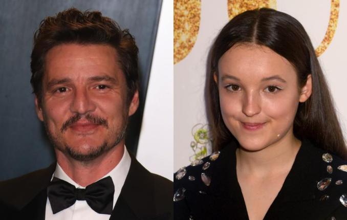 Pedro Pascal and Bella Ramsey