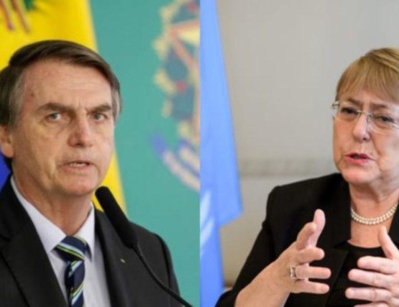 Bolsonaro elogia tortura e morte do pai de Bachelet por Pinochet
