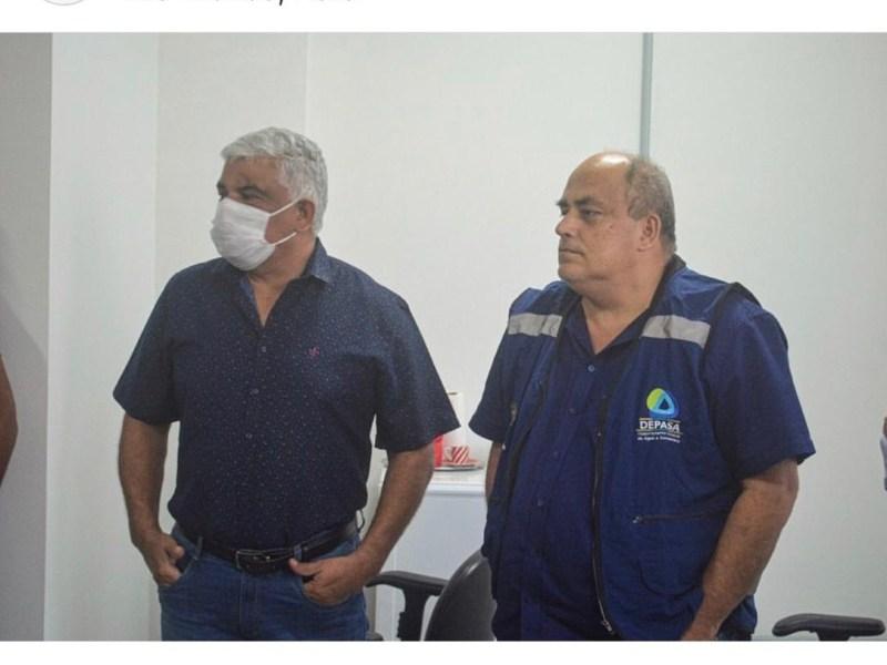 Tião Fonseca ignora recomendações do próprio governador e vai a eventos do Depasa sem máscara