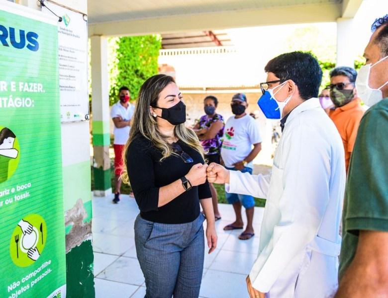 Deputado Jenilson Leite faz atendimento médico em Brasiléia