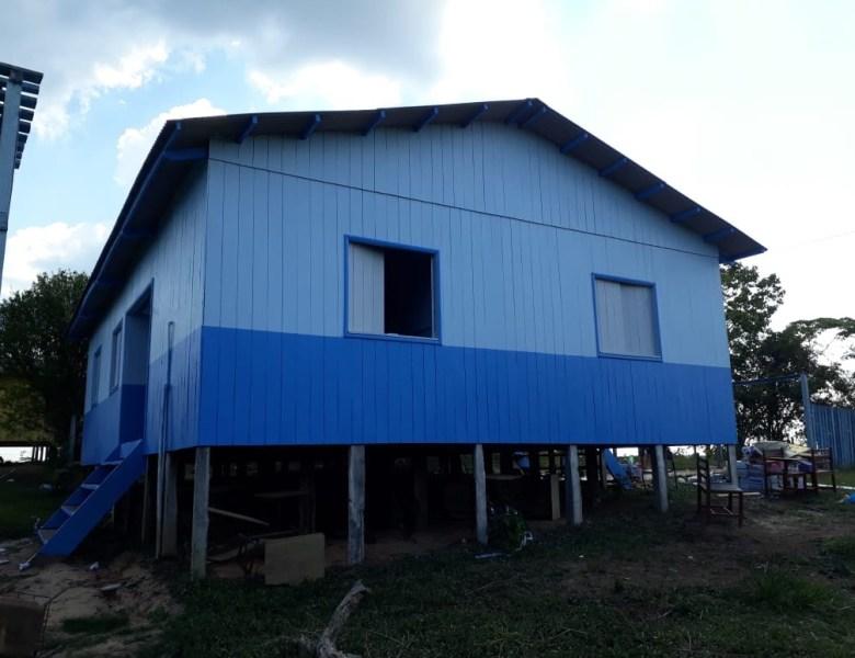 FCCV e Secretaria da Educação realizam serviços de manutenção na Escola Maria José Bezerra