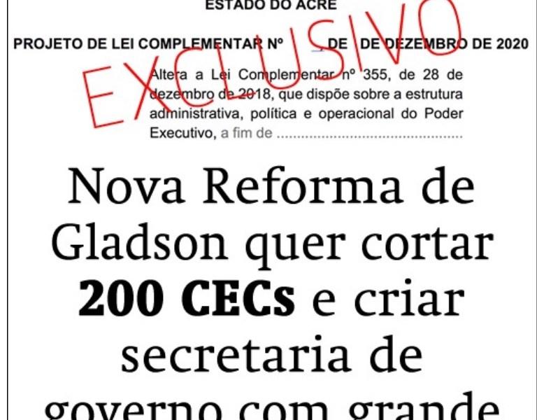 TV Espinhosa: Reforma administrativa de Gladson tem cheiro de vingança pós eleitoral
