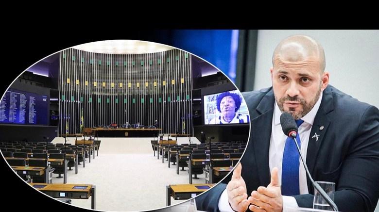 Com 364 votos, Câmara decide manter prisão de Daniel Silveira por ataques ao STF