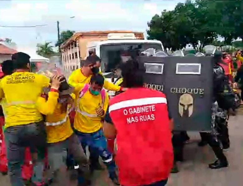 Para Jorge Viana e Marcus Alexandre, ataque a trabalhadores municipais não pode ficar impune