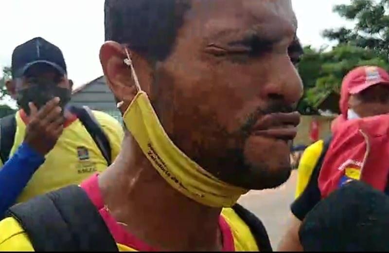 VÍDEO: Polícia de Gladson bota pra moer  em garis que protestam contra Bocalom