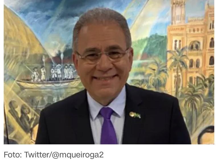 Marcelo Queiroga aceita convite para assumir o Ministério da Saúde