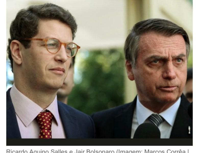 """Bolsonaro e Salles pedem """"US$ 1 bilhão"""" para preservar a Amazônia"""