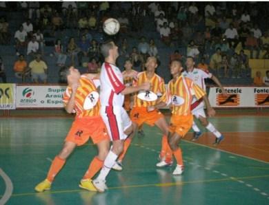 """O Arquivo do Façanha – No Acre, Banespa-SP vence grupo """"D"""" da Taça Brasil de Futsal de 2005"""