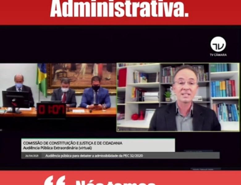 Em defesa dos servidores públicos, Leo de Brito diz não a reforma administrativa