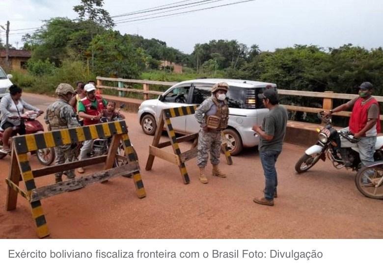 BOLÍVIA REFORÇA A FRONTEIRA E ACELERA VACINAÇÃO PARA CONTER CEPA BRASILEIRA