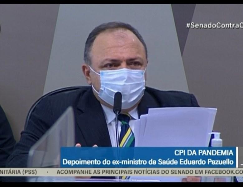 CPI da Covid – Veja o depoimento do ex-ministro Eduardo Pazuello