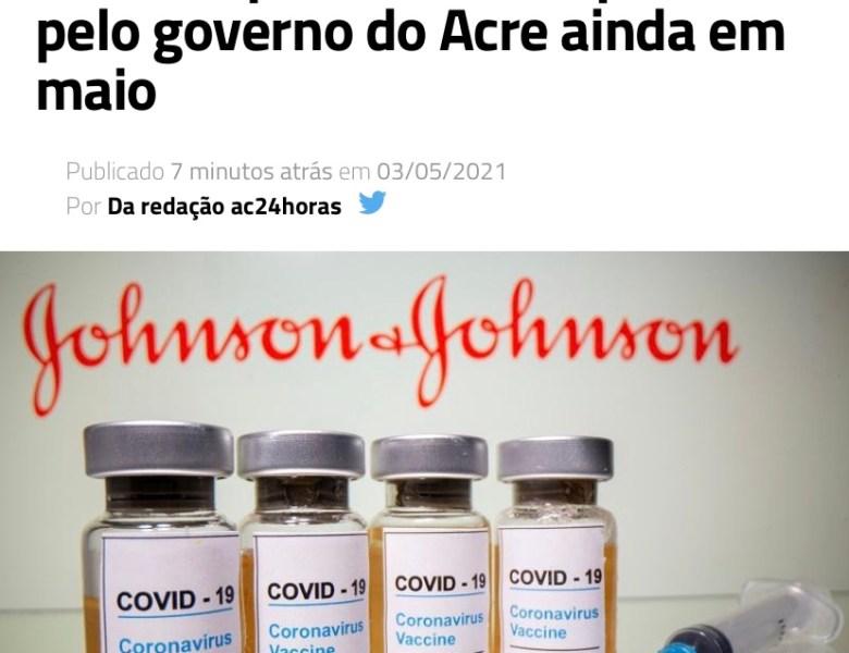 Gladson, depois de prometer e não cumprir comprar 1,7 milhão de doses de vacina, fala em adquirir imunizante da Johnson & Johnson
