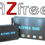 Atualização Azfree Duo HD