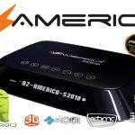 Atualização Azamerica S2010 HD Android V3.09 SKS Automático