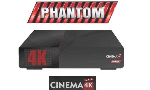 ATUALIZAÇÃO PHANTOM CINEMA 4K ACM – 19/10/2017