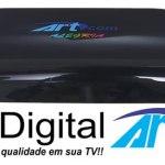 Atualização Artcom Alegria V1.19 Canais HD e SD Ativos