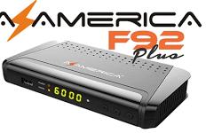 Atualização Azamerica F92 Plus V1.06 em Janeiro de 2018