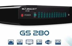 Atualização Globalsat GS 280 V.193 dia 11 de Abril de 2018