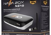 Atualização Nazabox NZ10 HD V2.24 Corrigindo Bugs