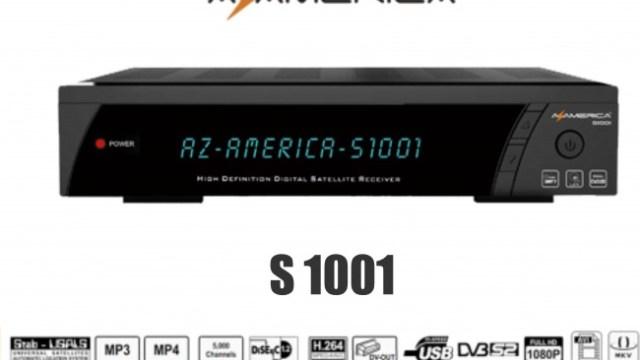 Azamerica S1001 HD Atualização Funcionando SKS e IKS