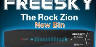 Atualização Freesky the rock zion v1.108.113