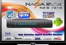 Atualização Nazabox S1010 Plus HD V2.22 Canais em HD Ativos