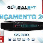 Atualização Globalsat Gs280 HD 3 Turnes V 190