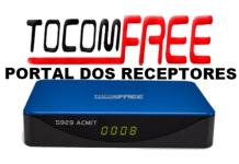 Atualização Tocomfree S929 ACM/T Corrigida
