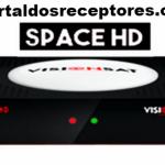 Nova Atualização Visionsat Space HD