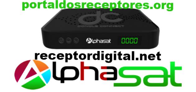 Nova Atualização Alphasat Dongle Connect