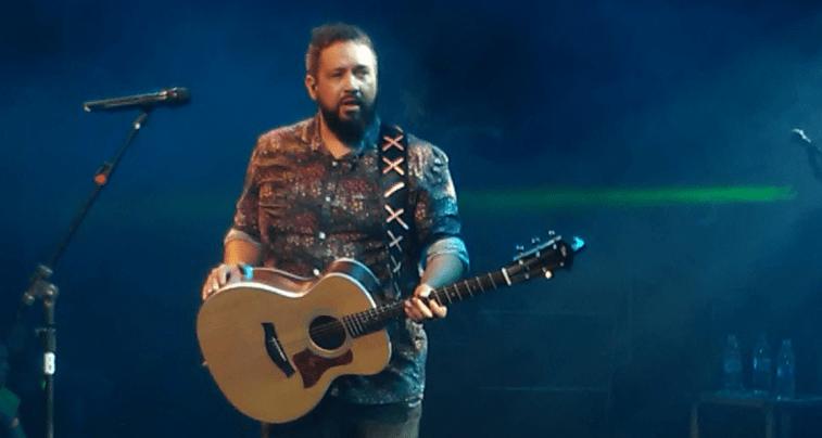 Cantor gospel Fernandinho se apresenta na Expoacre 2018.