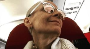 Ludmila Ferber está enfrentando câncer no pulmão.