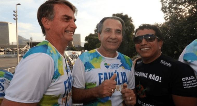 Bolsonaro recebeu apoio de artistas gospel durante campanha.