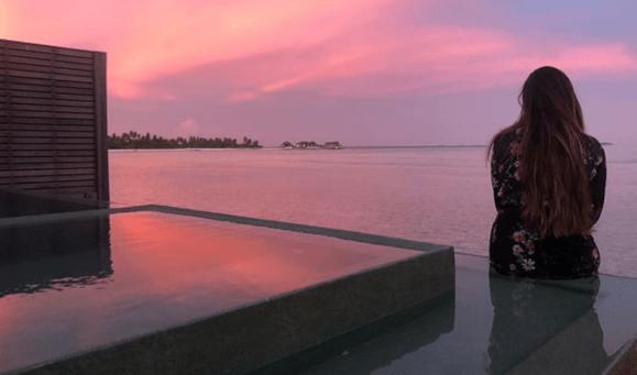 Gabriela Rocha medita no horizonte em Lua de Mel.
