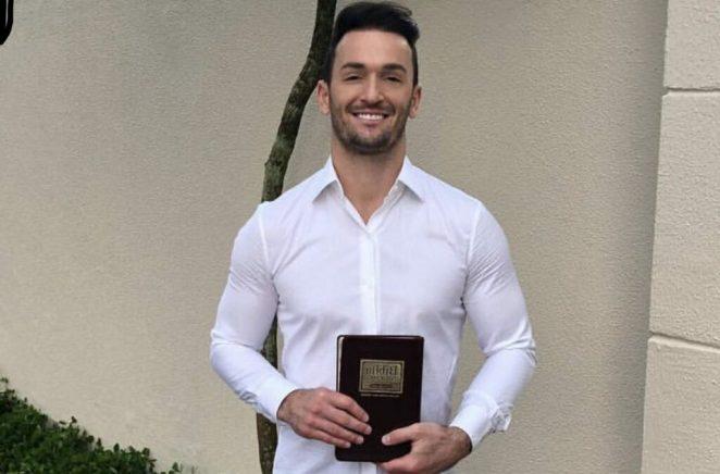 Diego Hypólito frequenta a Igreja Evangélica Bola de Neve
