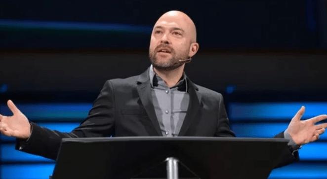 Pastor Joshua Harris.